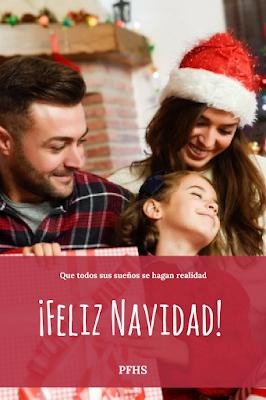 navidad familia regalos risas alegría