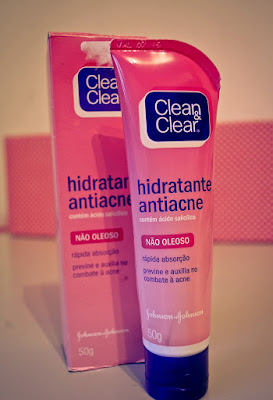 hidratante anti acne clean and clear