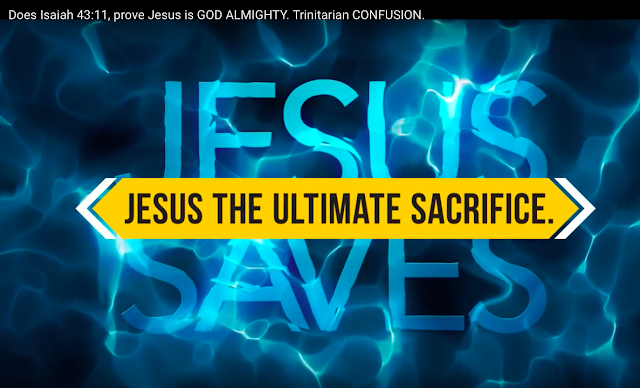 Jesus the ultimate sacrifice.Genesis 22:14.