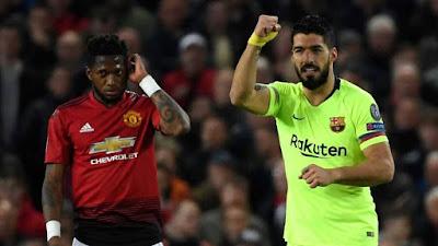 Manchester Utd vs FC Barcelona Champions League 1º leg game Q/final