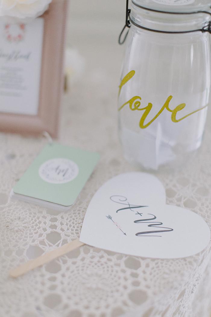 ventaglio personalizzato matrimonio