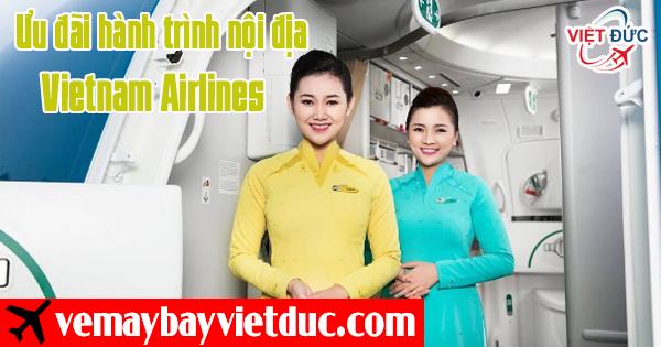 bán vé khuyến mãi nội địa Vietnam Airlines mới nhất
