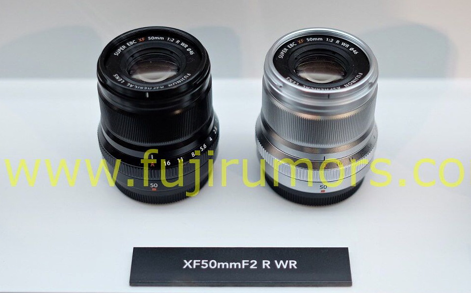 Объектив Fujifilm XF 50mm f/2 R WR