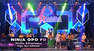 Lirik Lagu Ninja Opo FU (Dan Artinya) - Nella Kharisma