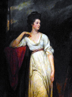 Frances Woodley by George Romney (1780-1)