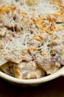 Chicken Cordon Bleu Pasta Bake: Savory Sweet and Satisfying