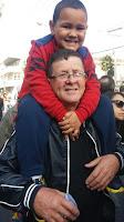 Emoção pela passagem da tocha olimpica por Teresópolis