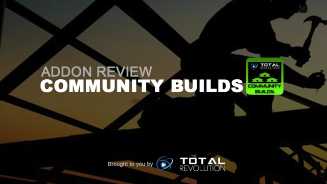how to install the new addon called Community Builds For