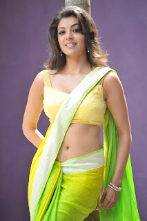 Kollywood actress kajal agarwal saree pics