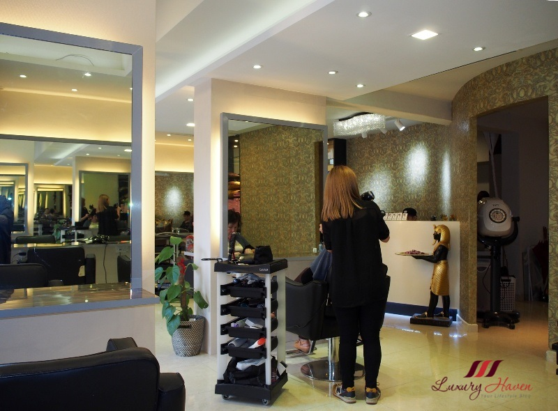 georginas salon reopens with spanking new look