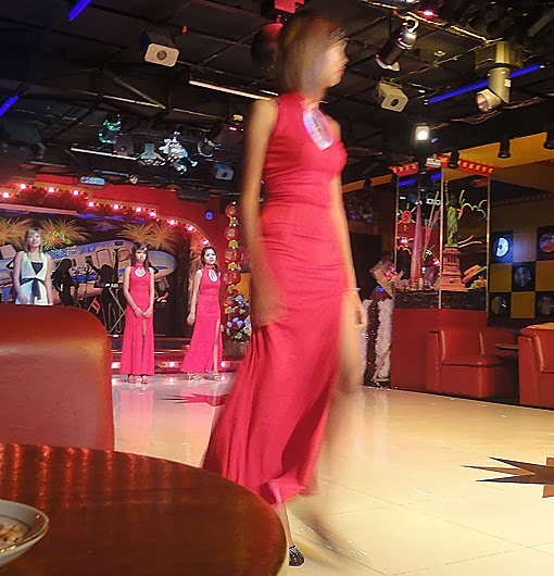 Burmese girls working at nightclub