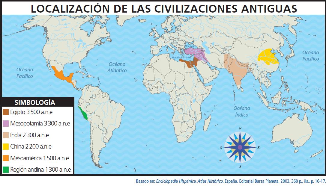 Resultado de imagen para civilizaciones antiguas