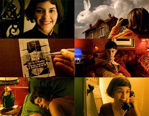 """""""Amelia"""" - kadr z filmu 2 - Francuski przy kawie"""