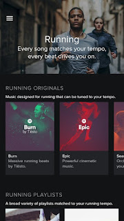 Spotify Running comes to Android