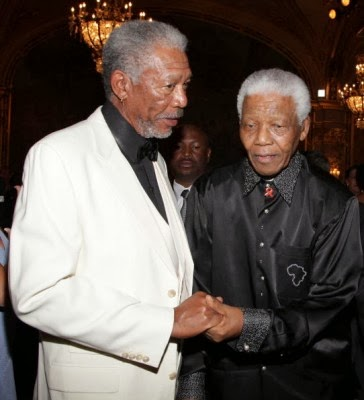 Morgan Freeman On Nelson Mandela's Death