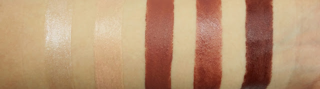 Urban Decay Vice Lipsticks Bobby Dazzle, Walk of Shame, 1993, Backdoor, Nighthawk Swatches