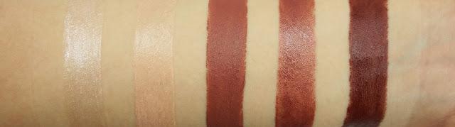 Urban Decay Vice Lipsticks Bobby Dazzle, Walk of Shame, 1993, Backdoor, Nighthawk Swatches