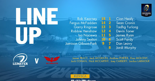 Preview : Leinster v Scarlets