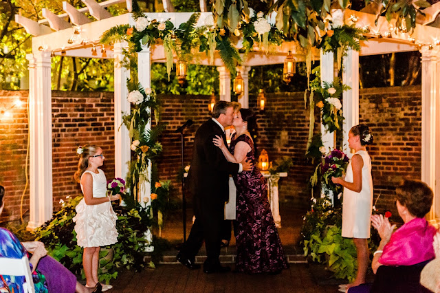 A night time DC wedding at the DACOR Bacon House photographed by Heather Ryan Photography