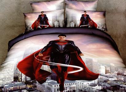 Sprei Satin Jepang Super Motif Superman