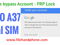 Cara Remove Akun FRP Lock Oppo A37