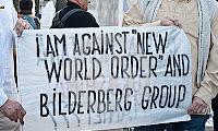 informasi bilderberg: protes masa terhadap bilderberg