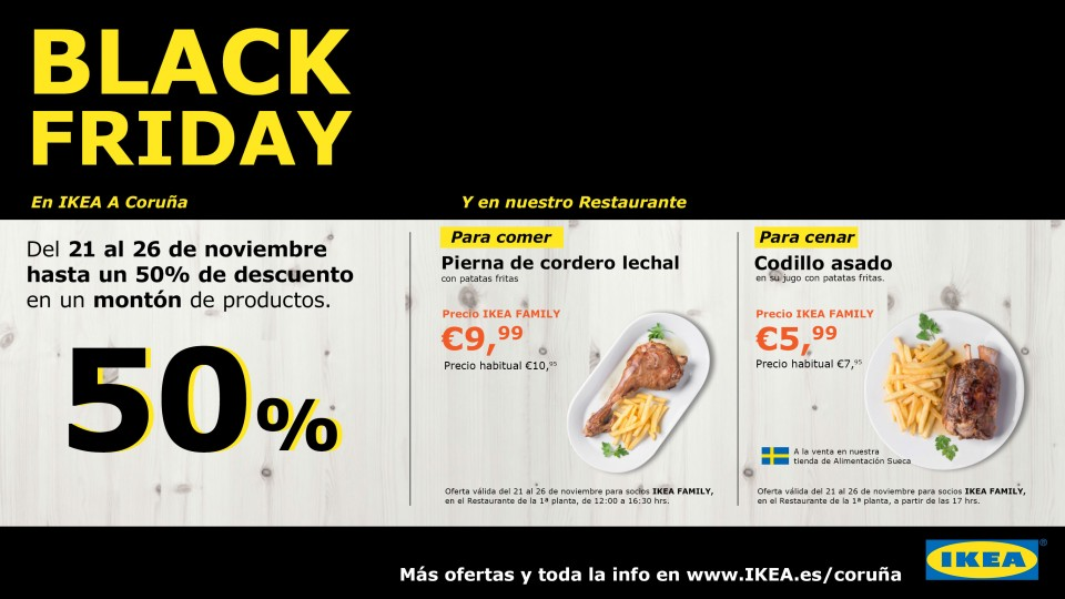 me gusta ahorrar black friday en ikea. Black Bedroom Furniture Sets. Home Design Ideas