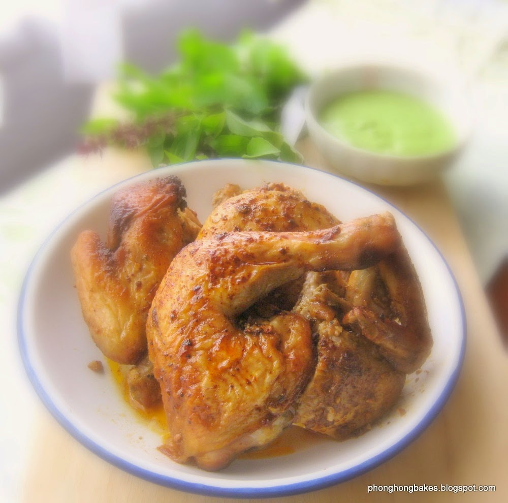 Phong Hong Bakes and Cooks!: Peruvian Roast Chicken with ...
