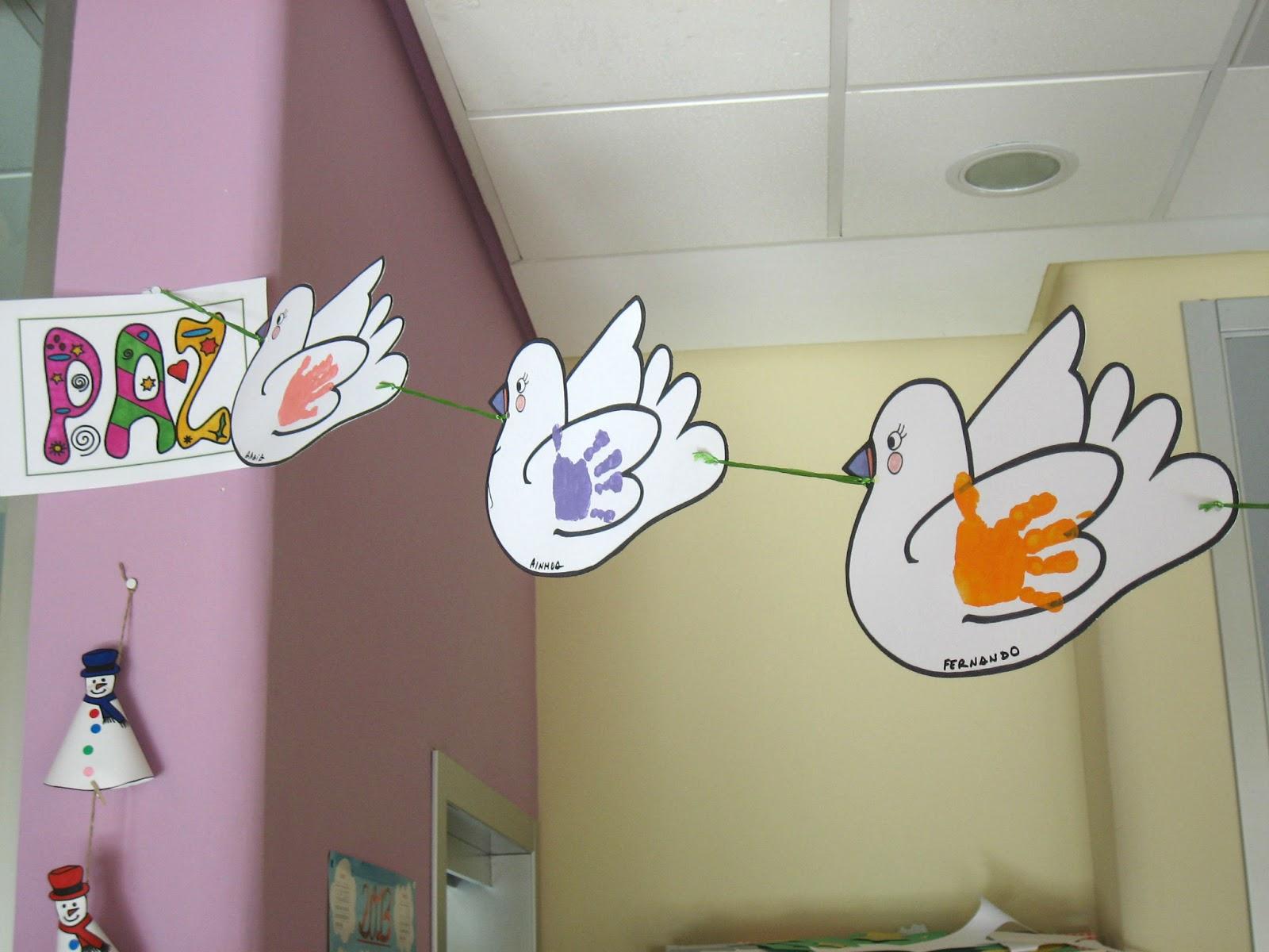 Rincón De Infantil Día De La Paz: Escuela Infantil Marchamalo: Día De La Paz 2013