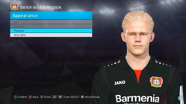 Bayer 04 Leverkusen Facepack + Miniface PES 2018