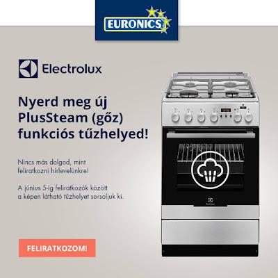 Euronics Electrolux Nyereményjáték