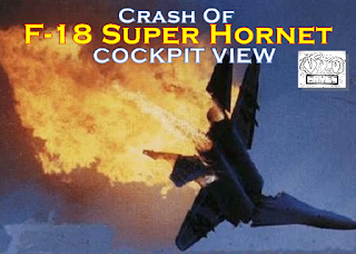 Crash Of F-18 super Hornets Maneuver