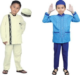 Desain Baju Muslim Anak Anak Laki Laki Bikin Sijagoan Makin Ganteng