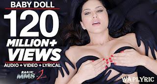 Baby Doll Song Lyrics Kanika Kapoor Sunny