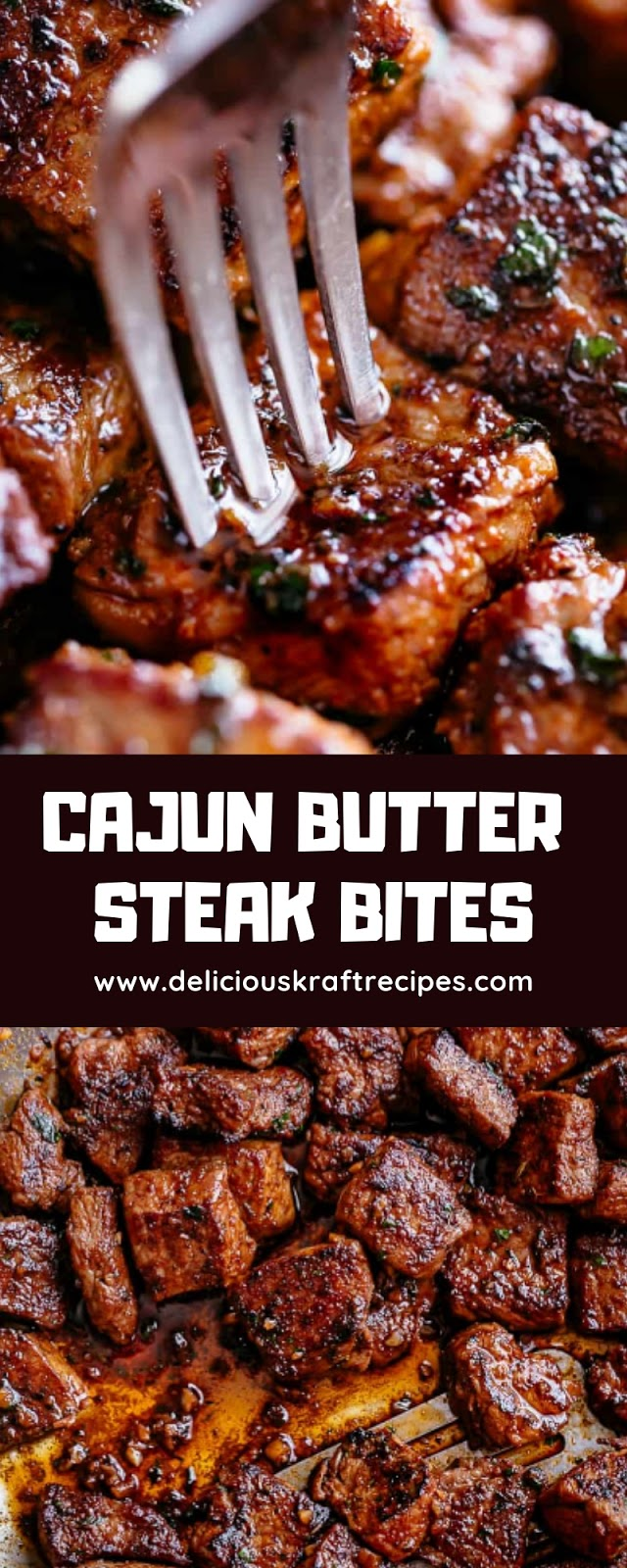 CAJUN BUTTER STEAK BITES