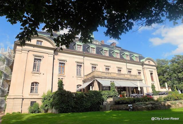 Sweden, Skåne, castle hotel Örenäs slott