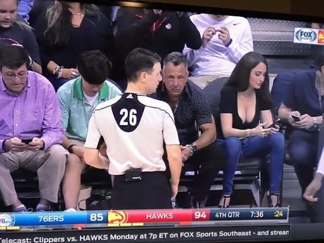 Fan de NBA se hizo viral por ser más atractiva que el juego