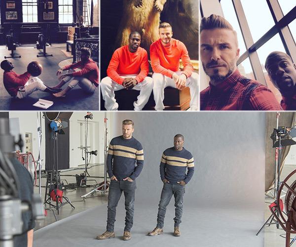 Beckham divierte en el último spot de H&M
