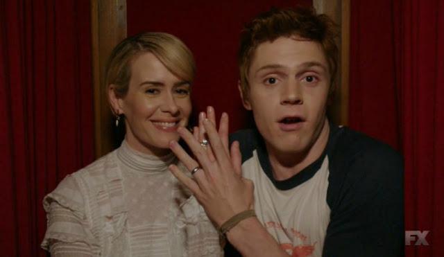 ¡Sarah Paulson y Evan Peters volverán en la 7ª temporada de 'American Horror Story'!