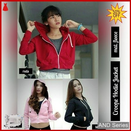 AND036 Jaket Wanita Crop Hoodie Jacket BMGShop