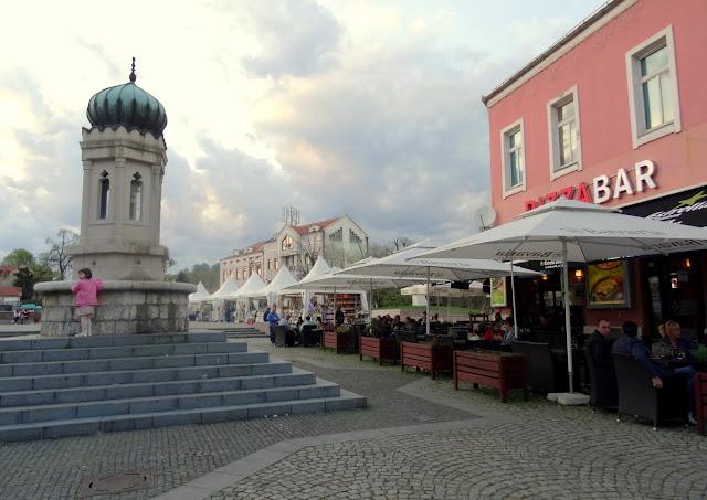 Trg Slobode in Tuzla Stari Grad (Old Town), Bosnia & Herzegovina