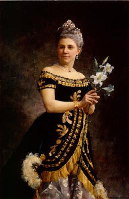 Oopperalaulajatar Ida Basilier-Magelsenin Muotokuva Philinen Osassa Oopperassa Mignon (1887), Maria Wiik