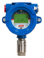 Scott fixed gas detection