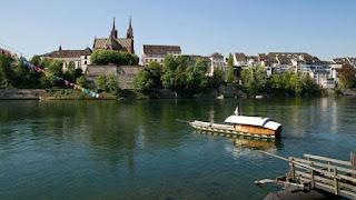 Rheinfähre Паромы | Базель | Швейцария
