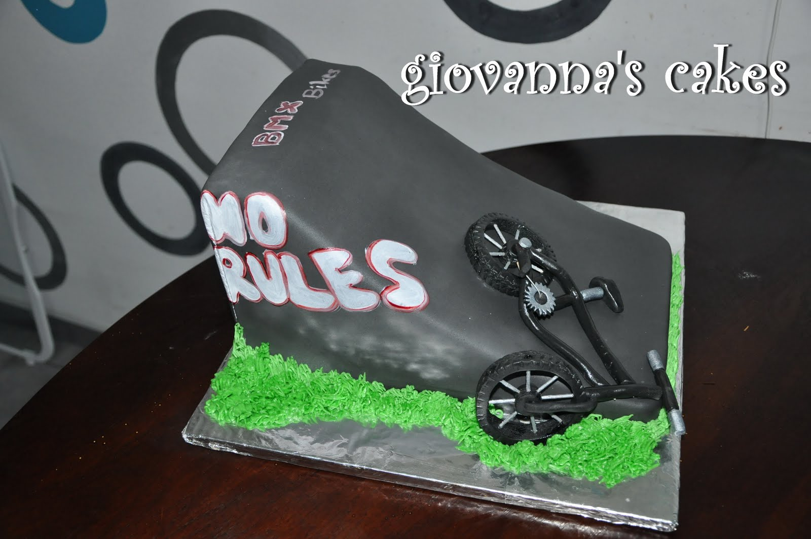 Giovannas Cakes BMX Bike Ramp