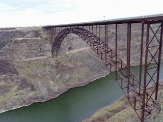 Perrine Bridge over the Snake River, Idaho