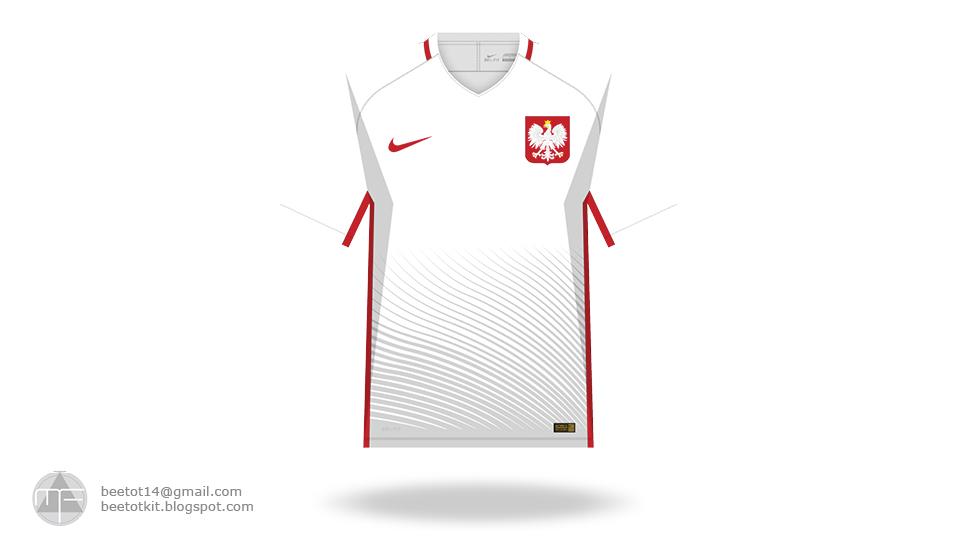 81da4f3398 Beetot Kit  Poland Euro 2016 Kit