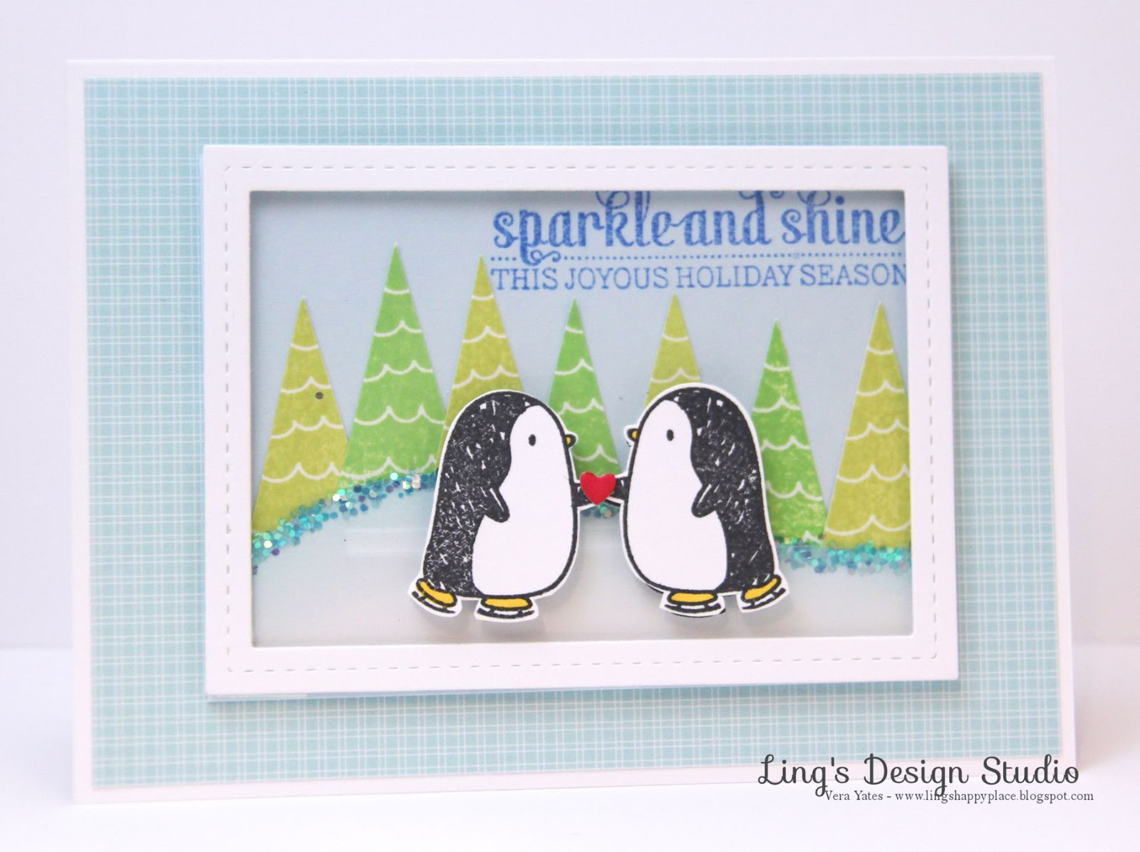 Penguins, Christmas, interactive