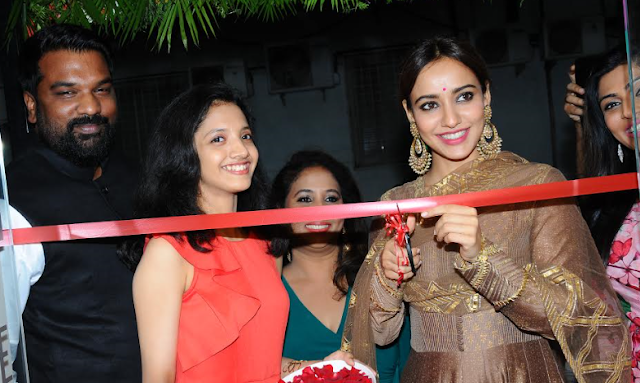 Bollywood Actress Neha Sharma inaugurates the All new branch of the Advanced Beauty & Cosmetic Clinic in RR Nagar, Bangalore