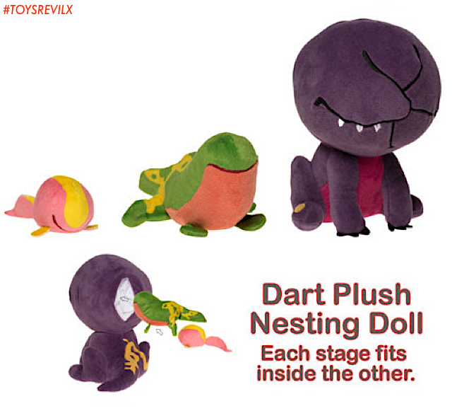 "a26f9e5612a This ""SuperCute Plush"" set features the life cycle of Dustin s new friend  ""Dart"" as a cute"